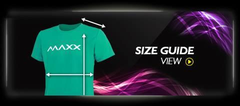 Maxx size guide